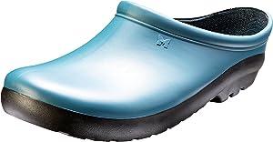 Sloggers Women's Premium Garden Clog, Deep Lake Blue, Size 6, Style 260DL06