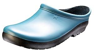SloggersWomen's Premium Garden Clog, Deep Lake Blue, Size 10, Style 260DL10