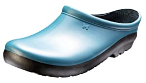 Sloggers Women's Premium Garden Clog, Deep Lake Blue, Size 8, Style 260DL08