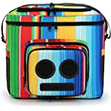 The #1 Cooler with Speakers & Subwoofer (Bluetooth, 20-Watt) for Parties/Festivals/Boat/Beach. Rechargeable Speaker…