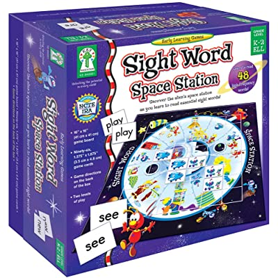 Key Education Sight Word Space Station Board Game Early Learning Game105 Pcs. Carson-Dellosa 840001: Flora M.S., Sherrill B.: Toys & Games