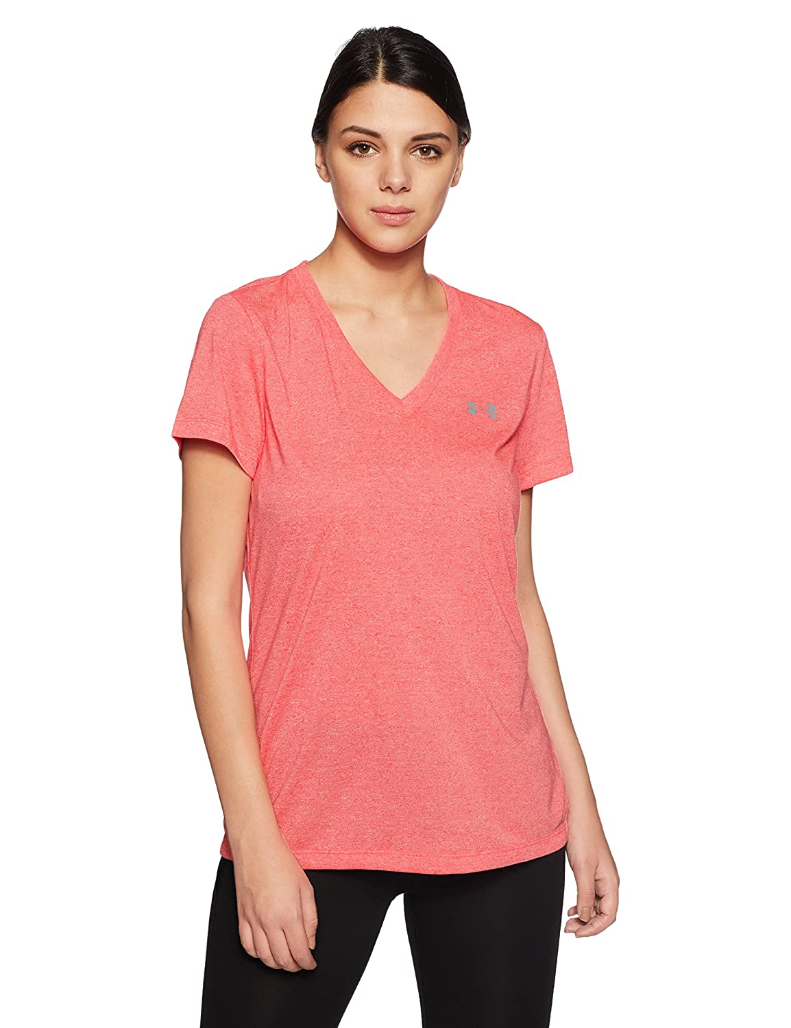 TALLA M. Under Armour Threadborne Train Ssv Twist - Camiseta de Manga Corta Mujer