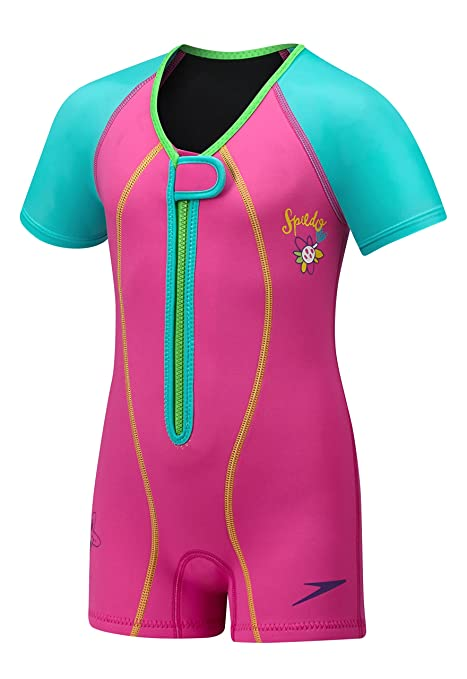 1d33ad732e Amazon.com : Speedo Kids UPF 50+ Begin to Swim Thermal Swimsuit ...