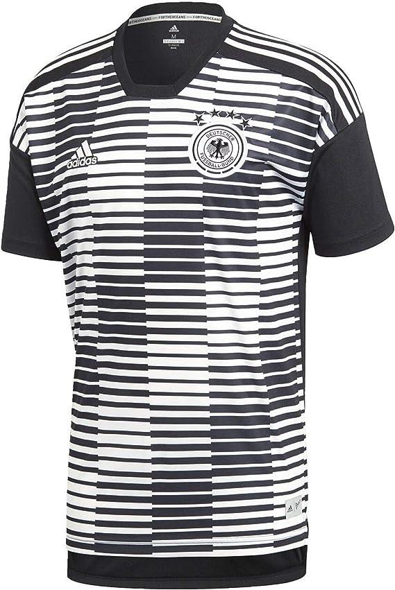adidas DFB Pre Match Shirt Aufwärmtrikot WM 2018 Schwarz