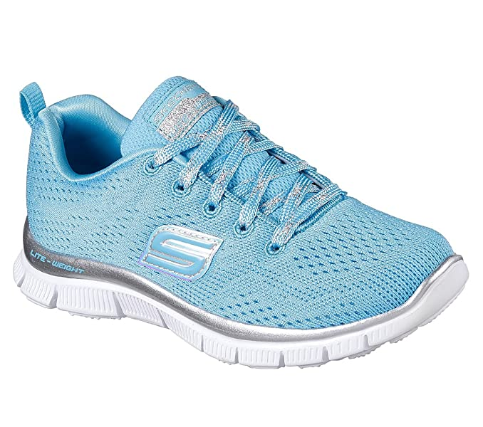 f2331c35d635 Description. Shimmer into your workout in the Skech Appeal - Rainbow Splash  by SKECHERS® ...