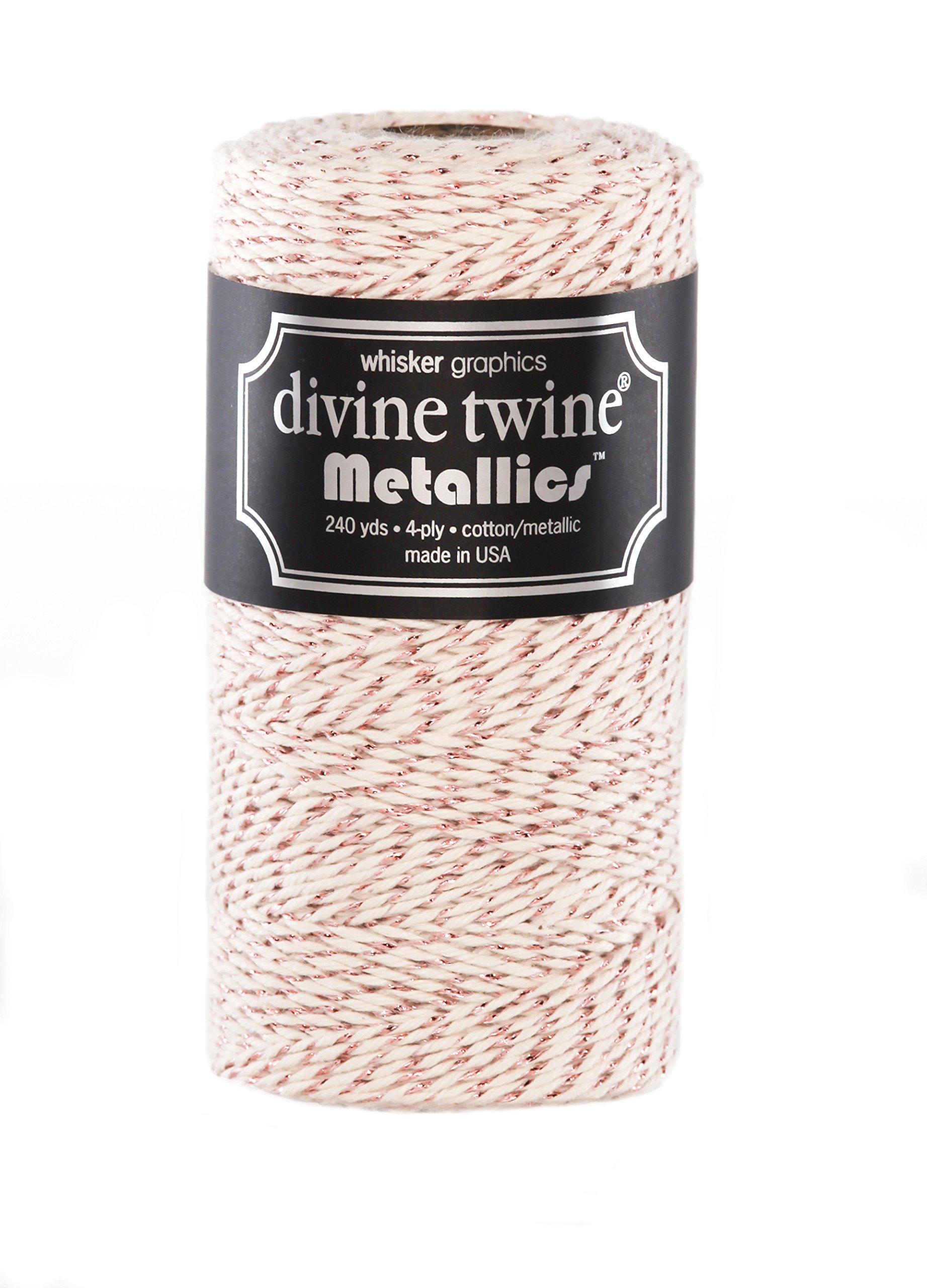 Divine Twine, Rose Gold Vintage Metallic