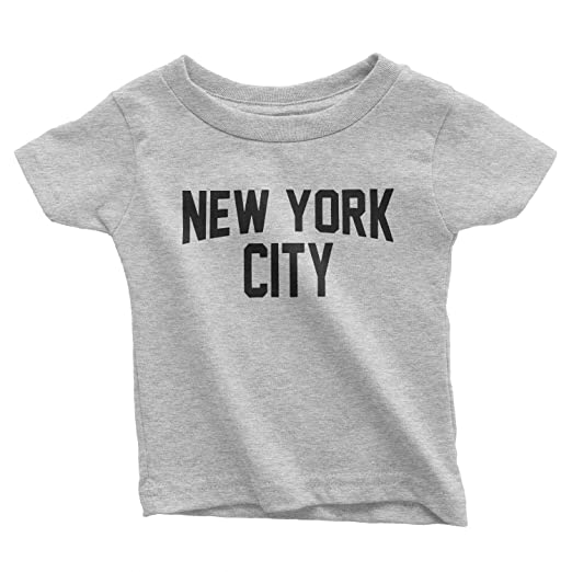 Amazon Com Nyc Factory New York City Toddler T Shirt Screenprinted