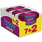Dodot Activity - Toallitas, 9 Paquetes de 54 unidades - Total: 486 toallitas