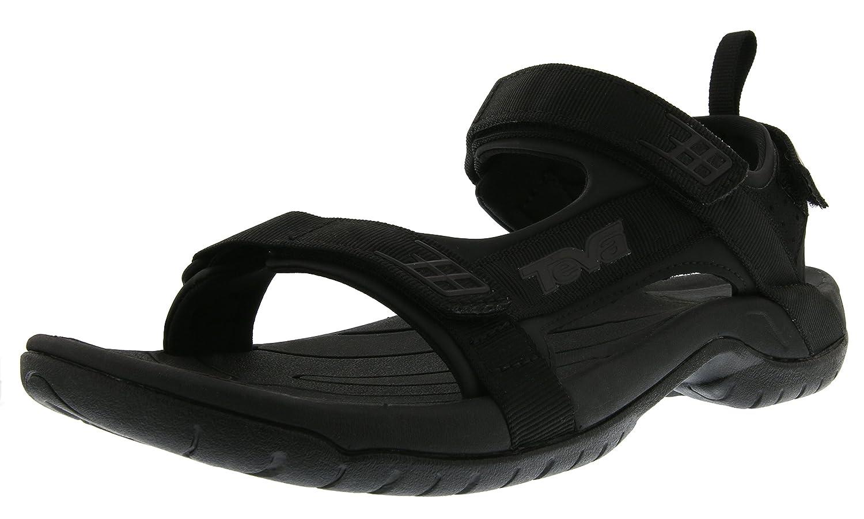 Teva Tanza M's - Sandalias Hombre 44.5 EU|Negro (Black/ Black)