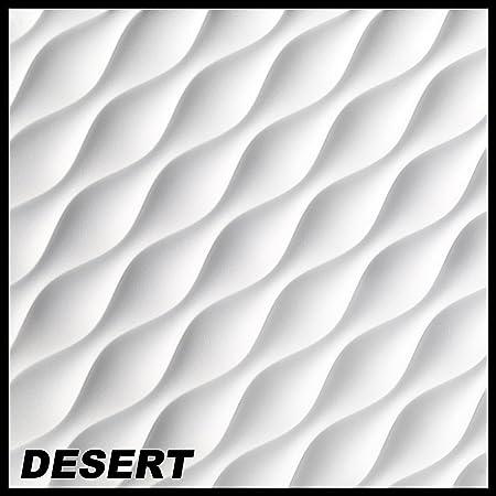 19 5 3d Wall Panel Panels Decoration Panel 60 X 60 Cm Desert Amazon