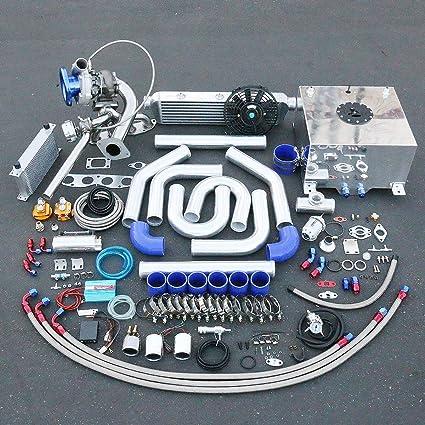 Amazon.com: For Acura RSX/Honda Civic DC5 K20 High Performance 25pcs T04E Turbo Upgrade Installation Kit: Automotive