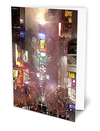 new york holiday cards new year eve on times square boxed 12 pack of 5x7 cards