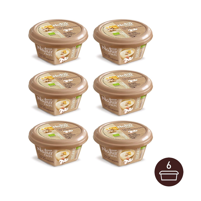 Natur Crem Crema de Champiñones BIO 315 g [Pack de 6]: Amazon.es: Alimentación y bebidas