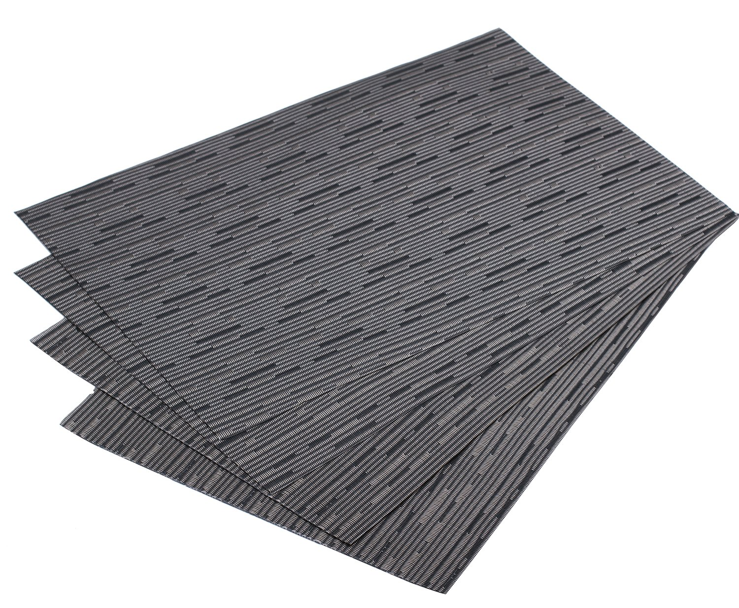 Amazon: Mint Cook Washable Reversible Heatresistant Placemats For  Dining Table, Gray Bamboo Shape, Set Of 4: Home & Kitchen