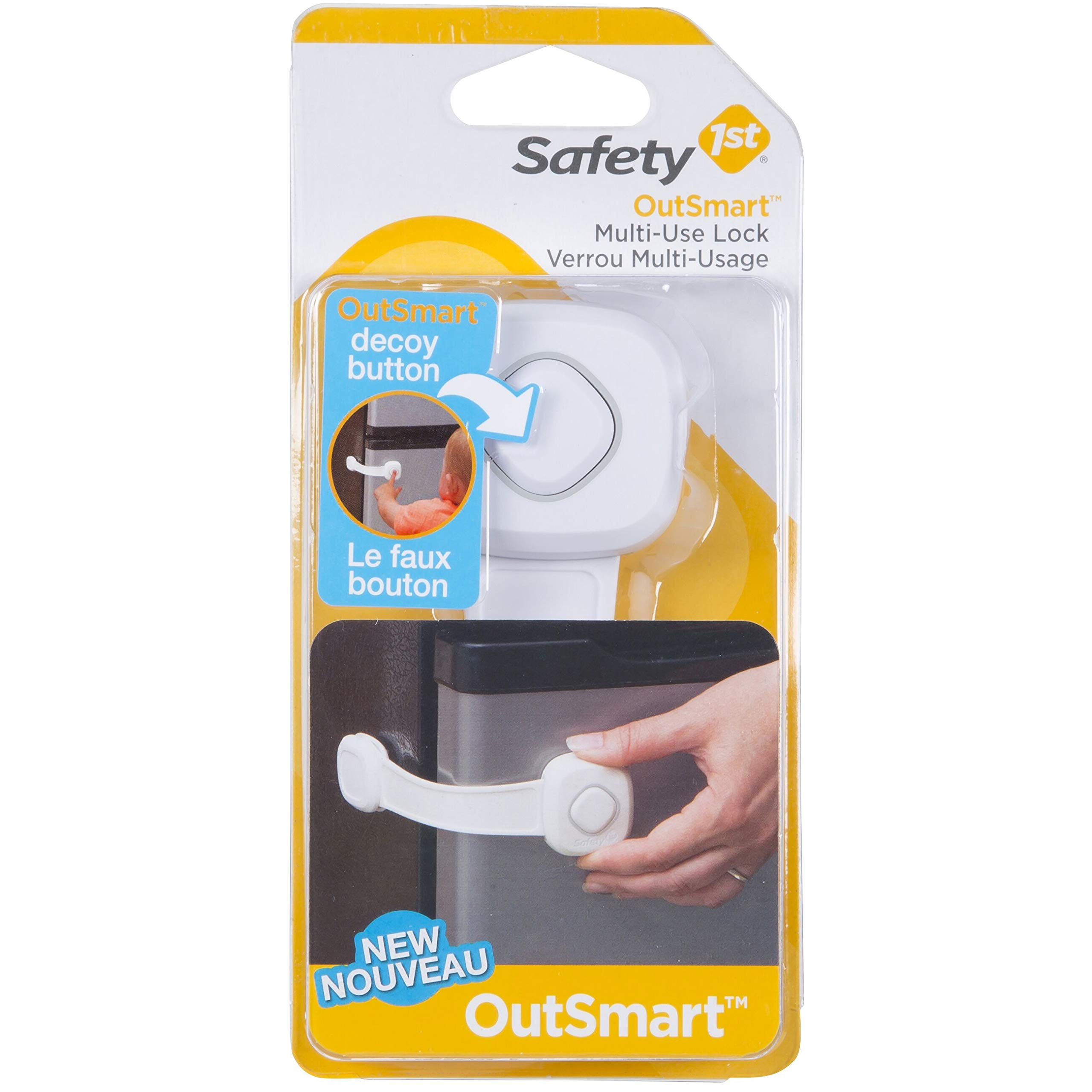 Safety 1st OutSmart Multi Use Lock, White by Safety 1st