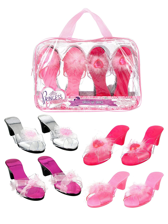 Princess Expressions 4 Pair Dress Up Shoes