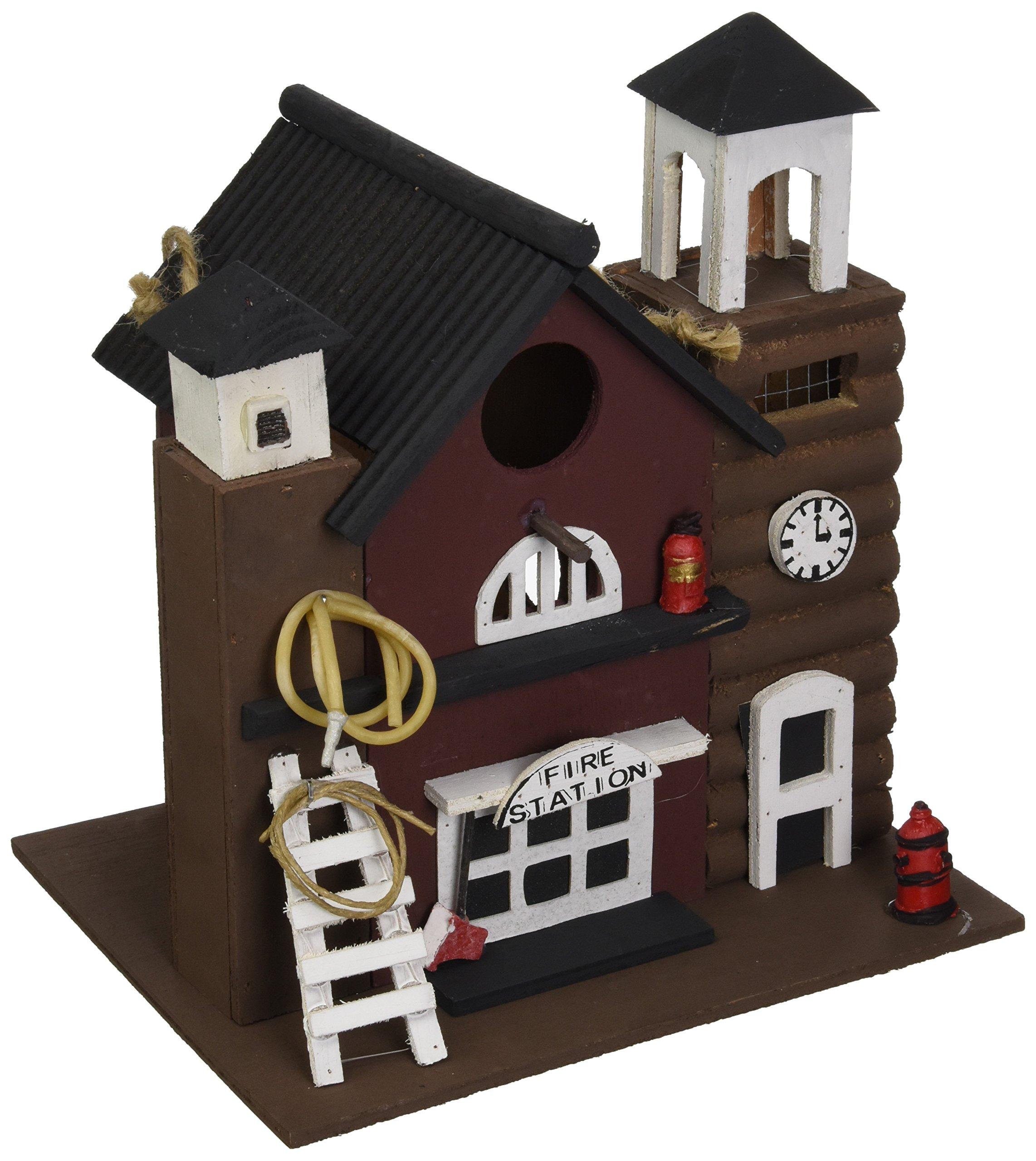 Koehlerhomedecor Koehler Home Decor Fire Station Birdhouse