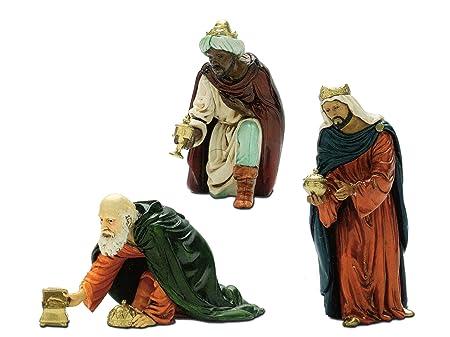 Legno 4/x 30/x 30/cm Bertoni 3/King Statue Multicolore