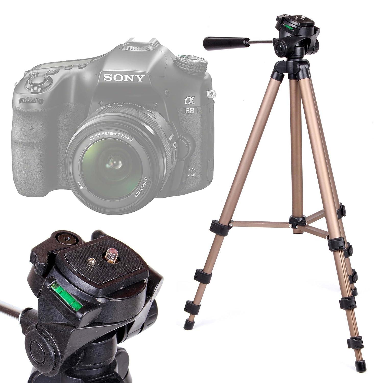 DURAGADGET Trípode Profesional para Cámara Sony Alpha 68 | Kodak ...