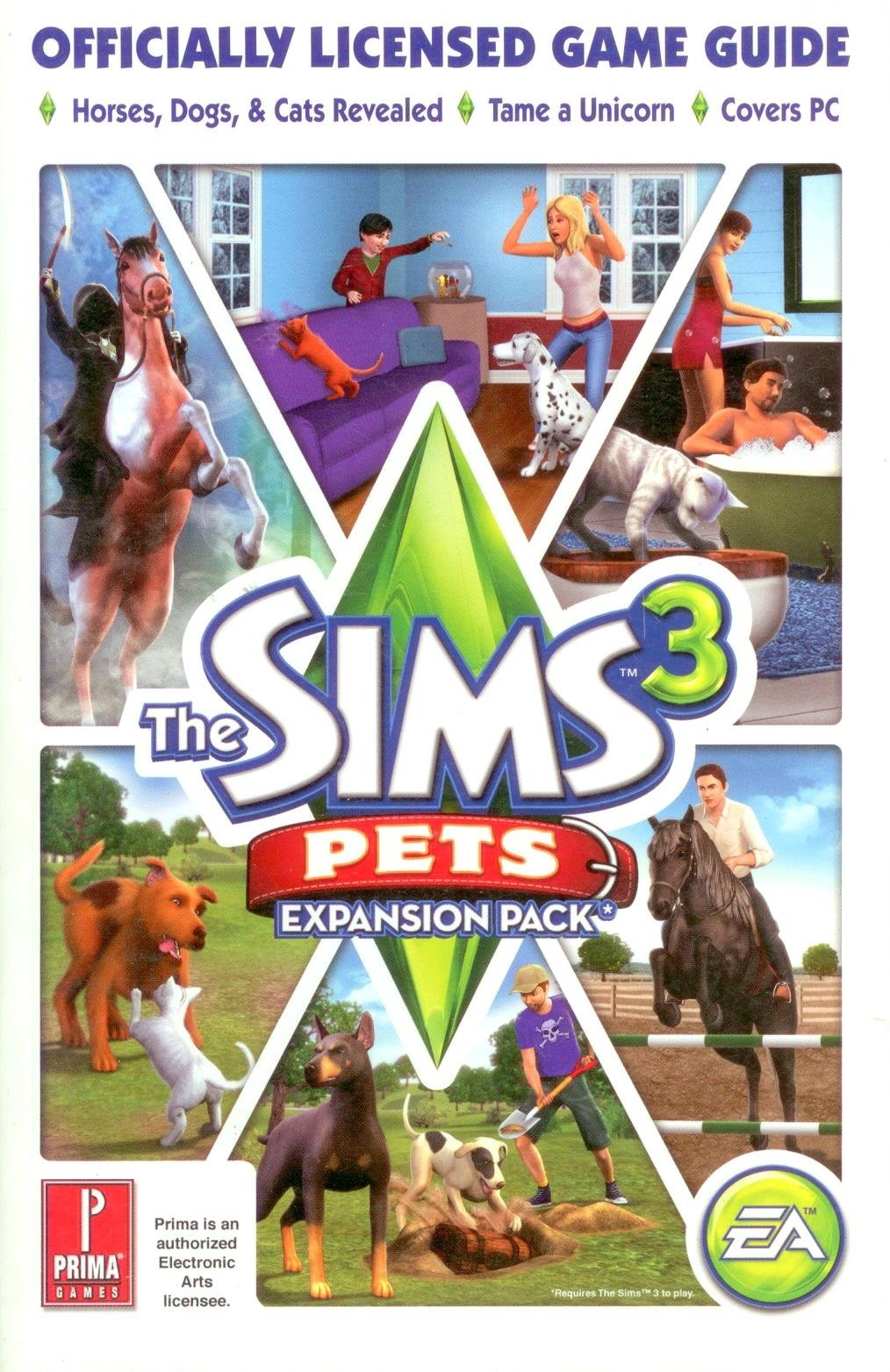 The sims 3 pets: horses guide to care, training, and benefits.