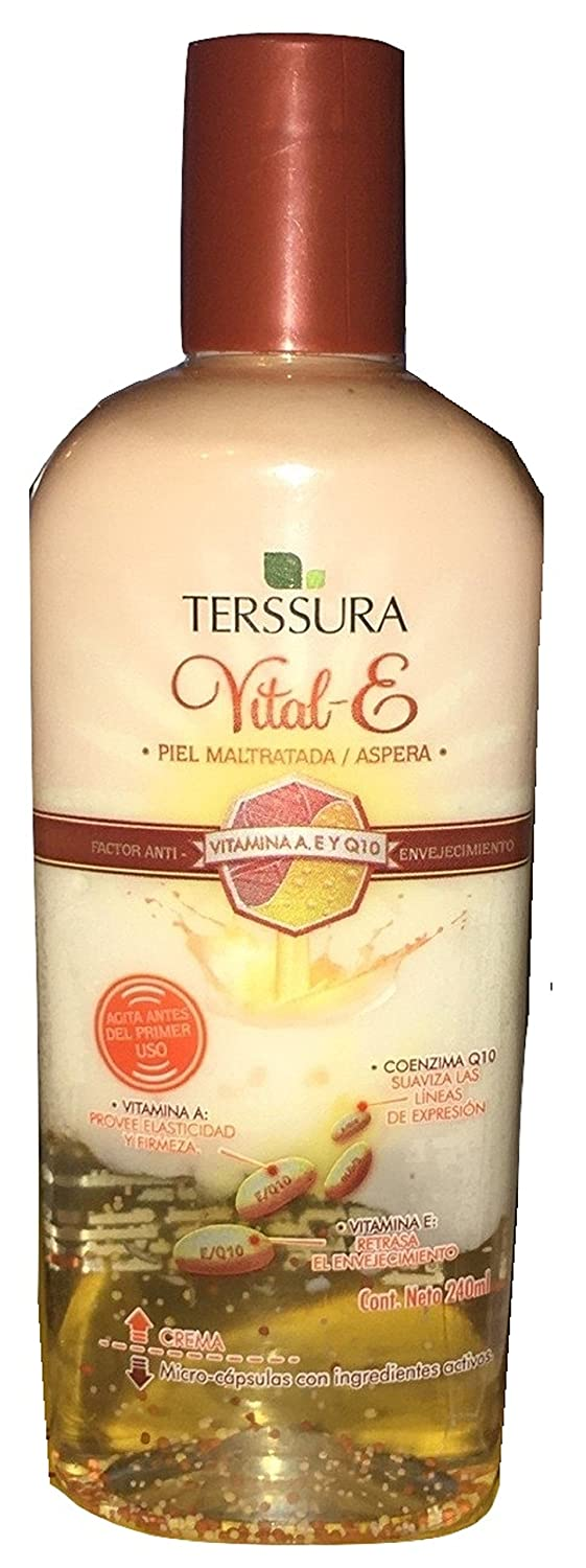 Amazon.com : Terssura Vital-E (240ml) Piel Maltratada/Aspera : Facial Moisturizing Lotions : Beauty