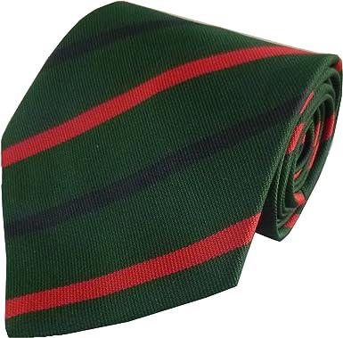 Regimental Tie Clip  GREEN JACKETS