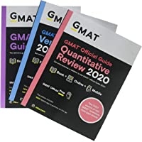 GMAT Official Guide 2020 Bundle: 3 Books + Online Question Bank