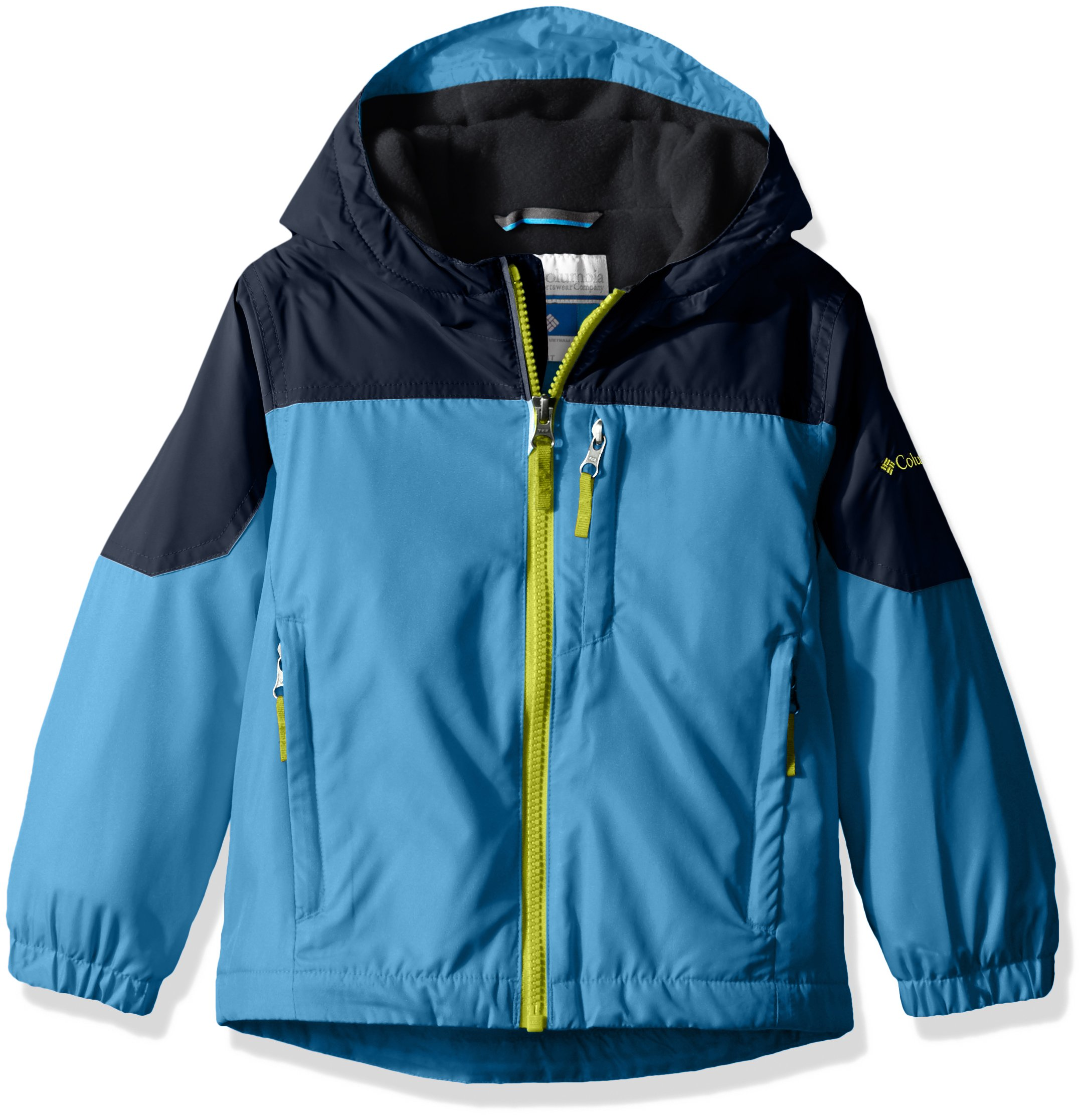 Columbia Big Boys' Ethan Pond Jacket, Peninsula, Collegiate Navy, Large by Columbia