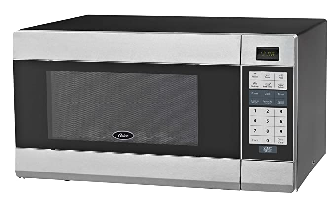 Oster OGZB1101 horno microondas digital de 1,1 pies cúbicos, negro ...