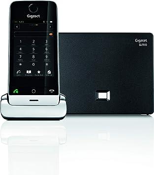 Gigaset SL910 - Teléfono Inalámbrico con Pantalla táctil, Manos Libres, Bluetooth: Gigaset: Amazon.es: Electrónica