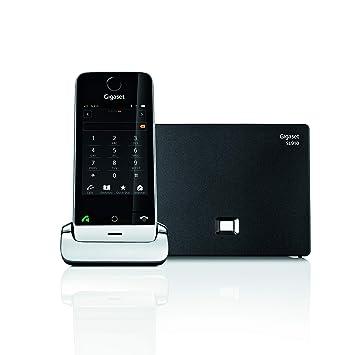 Gigaset SL910. Teléfono inalámbrico con Pantalla táctil; Manos Libres; Bluetooth.