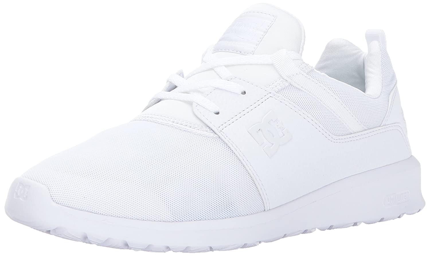 DC Men's Heathrow Casual Skate Shoe B01MEG85OJ 6 D D US|White/White