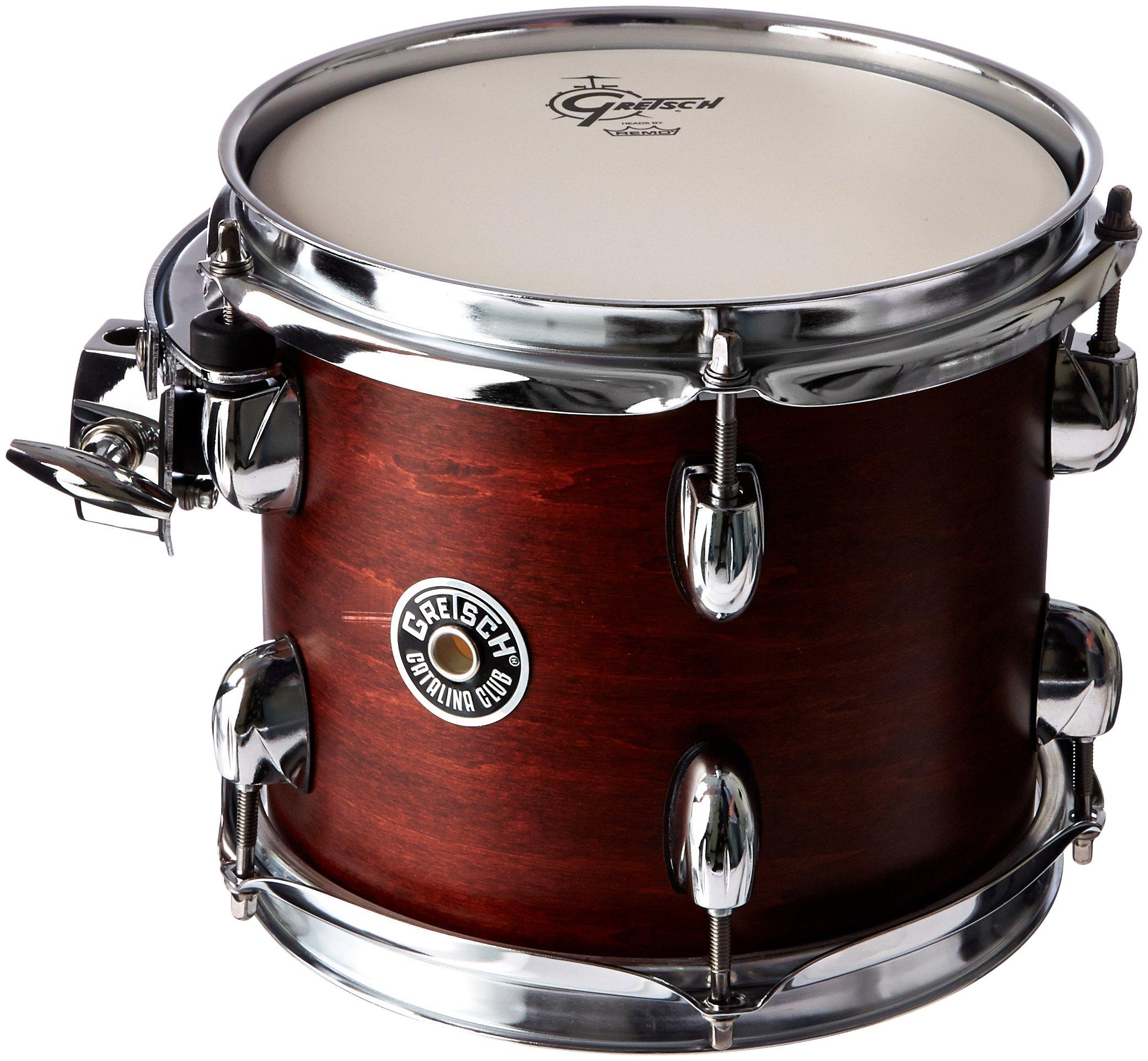 Gretsch Drums Catalina Club CT1-0708T-SWG Drum Set Rack Tom, Satin Walnut Glaze by Gretsch Drums