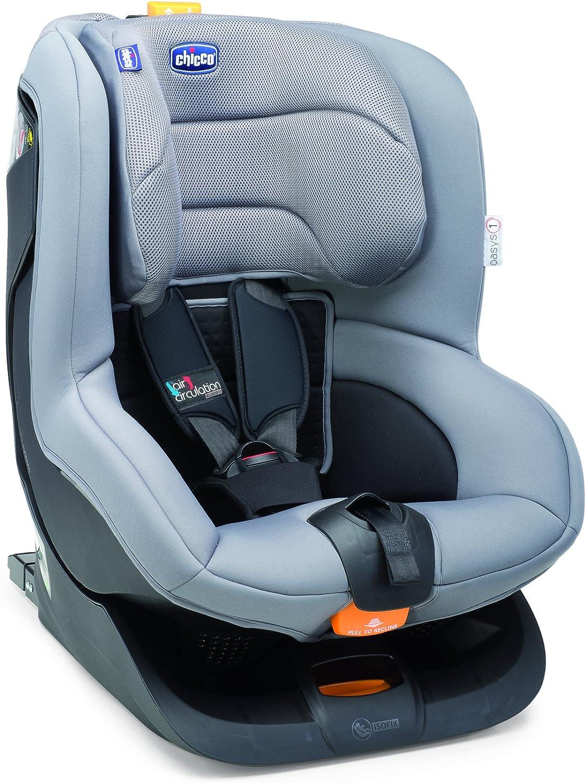 Chicco Oasys 1 Isofix - Silla de coche, grupo 1, color gris ...