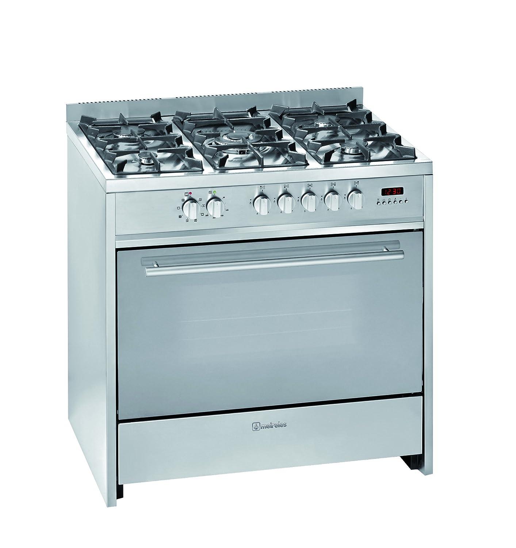 Meireles E 911 X - Cocina (Cocina independiente, Acero inoxidable ...