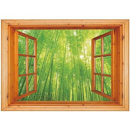 Unique Bamboo Window 6