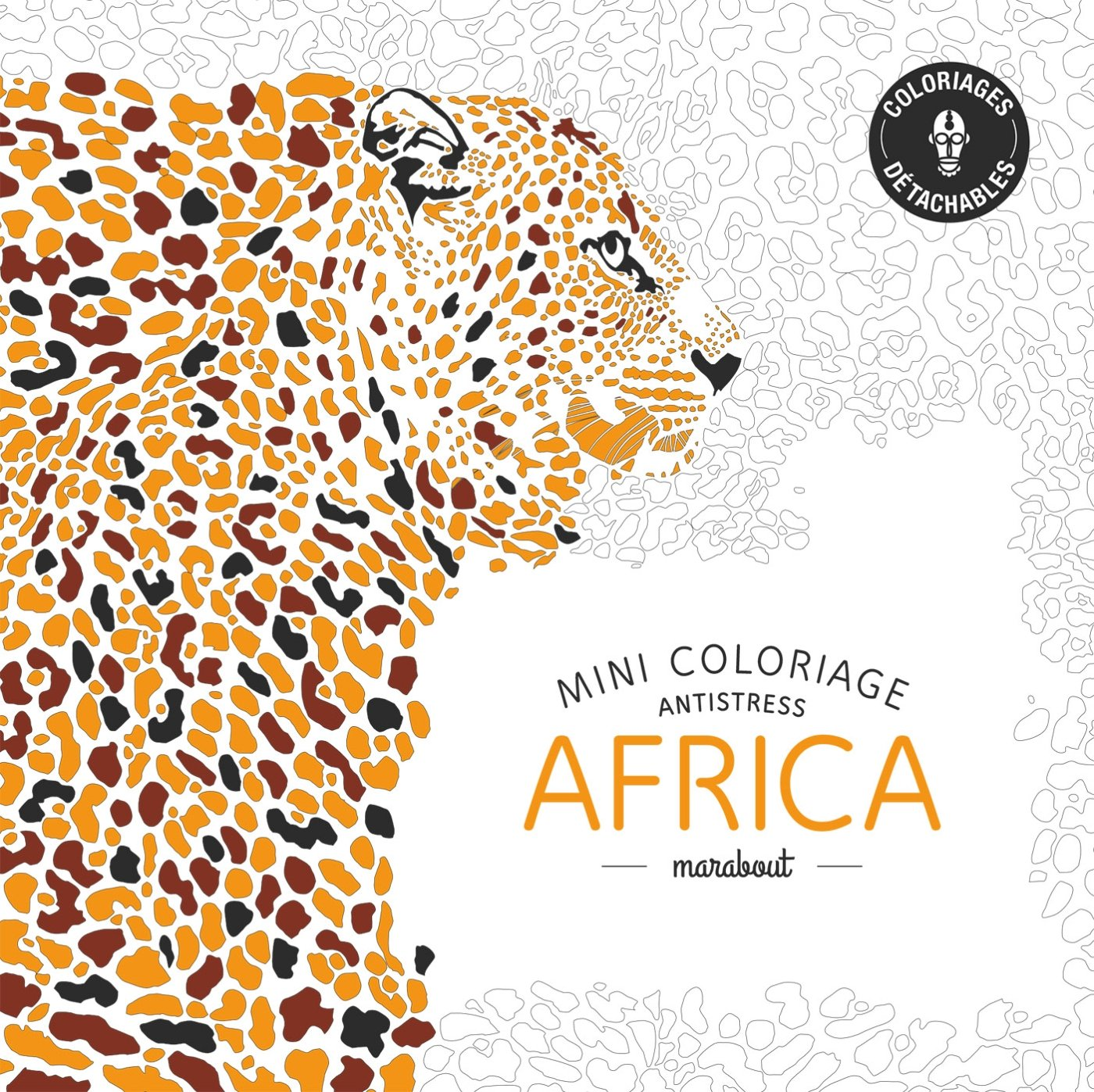 Mini coloriage anti stress Africa French Edition Collectif Marabout Amazon Books