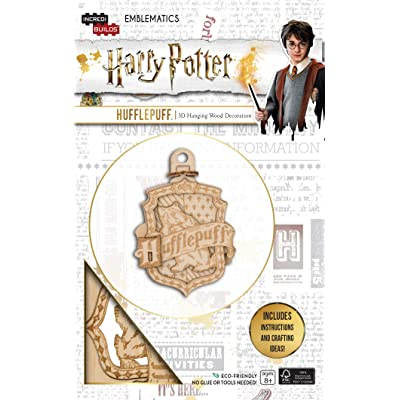 Insight Editions IncrediBuilds Emblematics: Harry Potter: Hufflepuff: Incredibuilds: Toys & Games