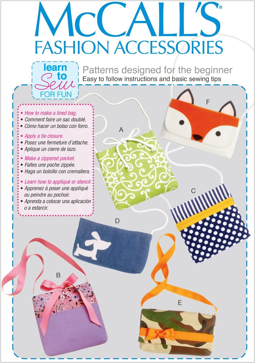 Attache Bag Sewing Pattern