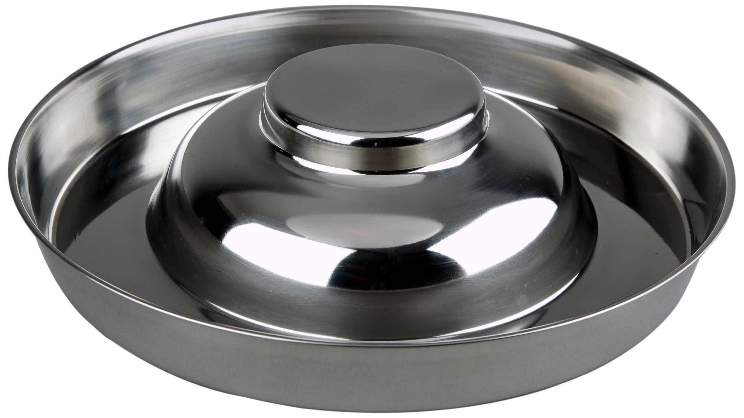 Advance Pet Products Stainless Steel Flying Saucer, 15-Inch