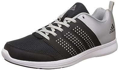 9eea02263 Adidas Men s Adispree M Black and Metsil Running Shoes - 10 UK India (44.67