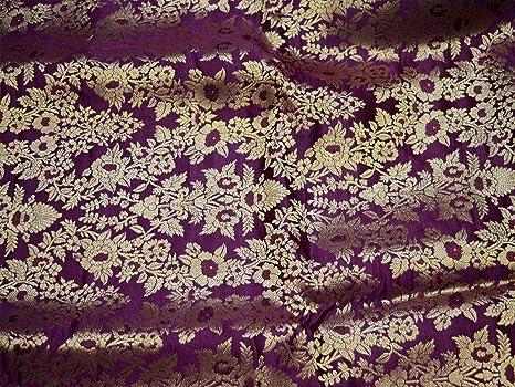 Amazon.com: Fundas de cojín de tela de color vino brocado ...