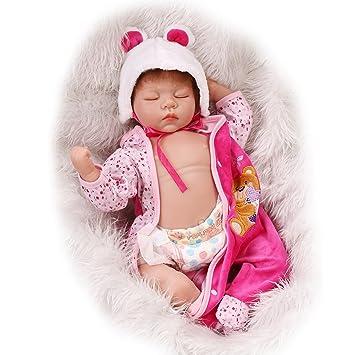 Amazon.es: Fachel Reborn doll muñeca realista de silicona ...
