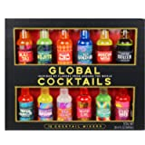 Thoughtfully Gifts, Global Cocktail Mixers, 2.3 Fluid Ounces Each, Flavors Include Classic Margarita, Cuban Style Mojito…