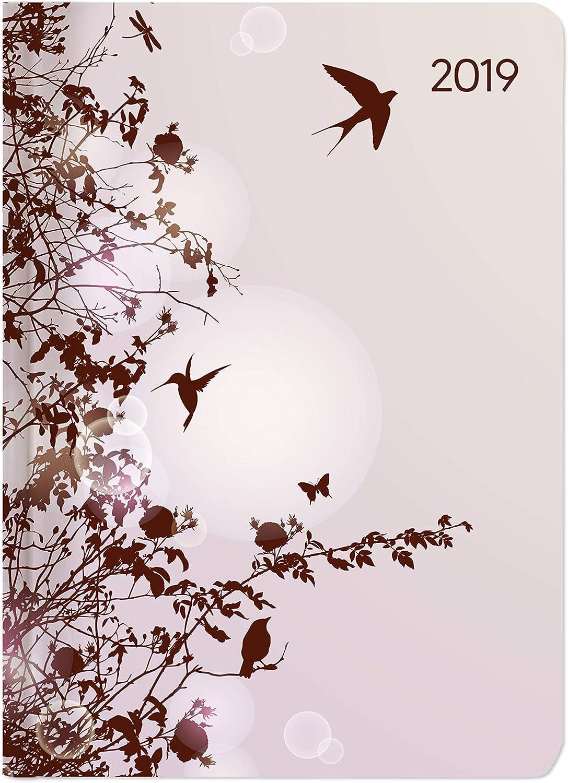 "Agenda Giornaliera Style 2019 ""Hummingbird Tree"" 10,7X15,2 Cm"