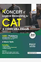 Koncepts of LR - Logical Reasoning for CAT & Other MBA Exams 3rd Edition Paperback