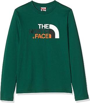 The North Face Y Easy L/S tee Camiseta, Unisex niños: Amazon.es: Deportes y aire libre