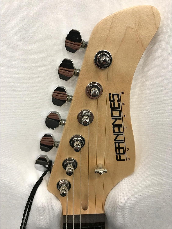 Fernandes RetroRocket X Guitarra eléctrica – Candy Apple rojo ...