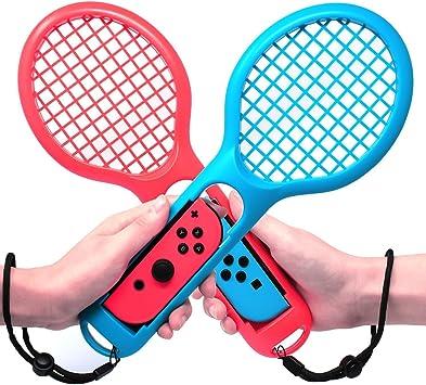 JAMSWALL Raqueta de Tenis Joy Con para Nintendo Switch Raqueta de Tenis Especialmente para Mario Tennis Aces y Los Juegos: Amazon.es: Electrónica