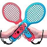 Jamswall Nintendo switch Joy-Con用 テニスラケット テニスゲームラケット 2個セット